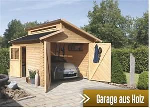Fertiggaragen Aus Holz : holz garagen kaufen im holz garten baumarkt ~ Articles-book.com Haus und Dekorationen