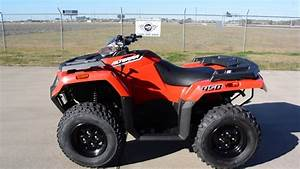 6 199  2016 Arctic Cat Alterra 450 4x4 Red Overview And