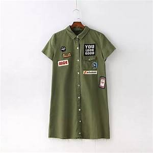 2017 summer fashion letters patch short sleeve shirt women With letter patches for shirts
