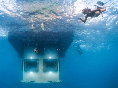 africa s first underwater hotel room business insider