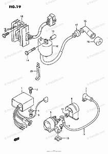 Suzuki Atv 1995 Oem Parts Diagram For Electrical