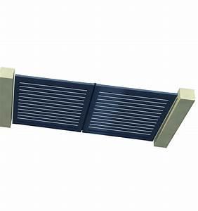 Brise Vue En Aluminium : portail brise vue alu 2 battants pour voir sans etre vu ~ Edinachiropracticcenter.com Idées de Décoration