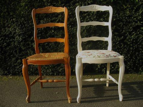 refaire une assise de chaise une chaise shabby et de une ideeën voor het huis