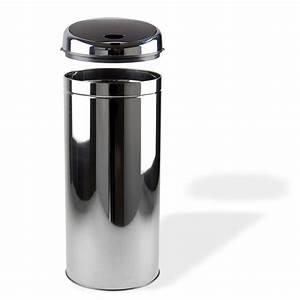 Mülleimer Mit Sensor : automatik m lleimer abfalleimer mit sensor 18 liter silber chrom schwarz ebay ~ Whattoseeinmadrid.com Haus und Dekorationen