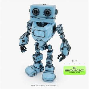 Retro Robot 3d Model  U2022 Buyourobot