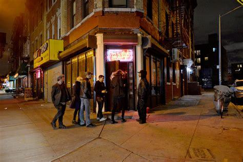 throwback bar  bushwick   york times