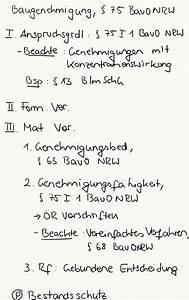 6 Bauo Nrw : baugenehmigung 75 bauo nrw exkurs jura online ~ Articles-book.com Haus und Dekorationen