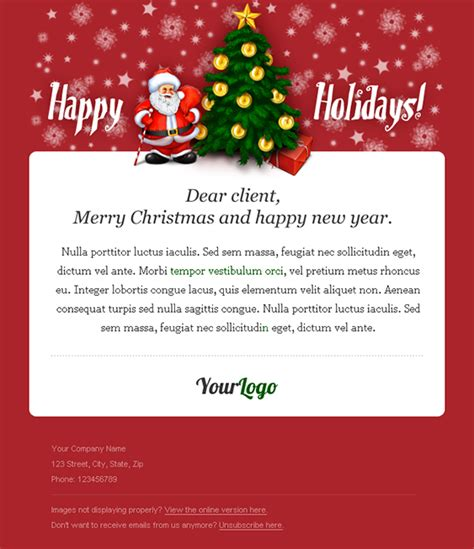 holiday newsletter creating the newsletter for your small business