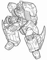 Pages Transformers Template Colouring Templates Coloring Premium sketch template