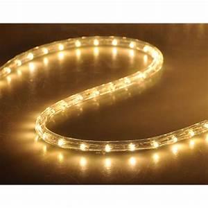 50 U0026 39  Led Rope Light Flex 2 Wire Outdoor Holiday D U00e9cor