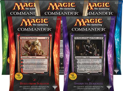 Modern Mtg Decks 2014 by Mtg Product Review Commander 2014 Gift Box