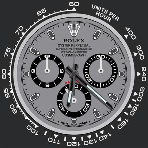 Rolex Daytona Zoom Lume Cosmograph Ucolor  Watchfaces For