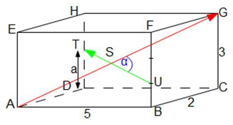 winkel berechnen vektoren skalarprodukt berechnen erkl rt