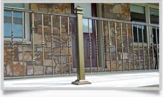 Wrought Iron Fence Styles
