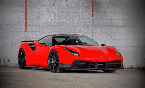 Wallpaper Vos Performance, Ferrari 488 Gtb, Sport Cars