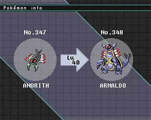 Poke'mon DJ: Armaldo Description