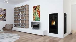 Poele A Granule Design : poele a granule design encastrable de skia la maison ~ Dailycaller-alerts.com Idées de Décoration