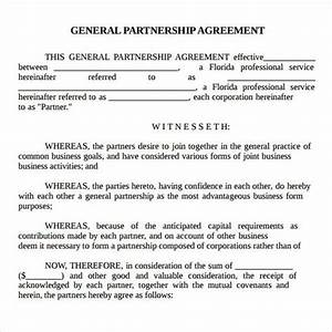 printable sample partnership agreement sample form real With partnership agreement ontario template