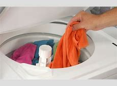 Pics For > Washing Clothes In A Washer
