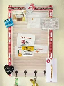 Memoboard Für Küche : memoboard aus lamellent r handmade kultur ~ Michelbontemps.com Haus und Dekorationen