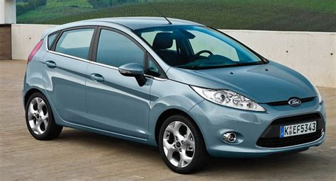 ford fiesta overtakes vw golf  europes  selling