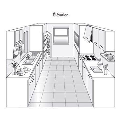 plan de cuisine en l 17 meilleures images à propos de plans aménagement cuisine