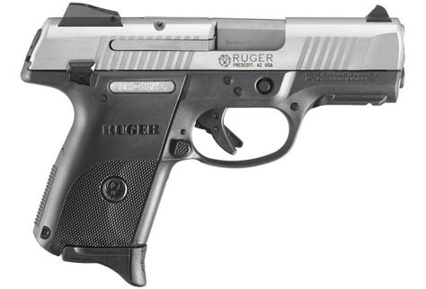 ruger src compact mm stainless centerfire pistol   mags sportsmans outdoor superstore