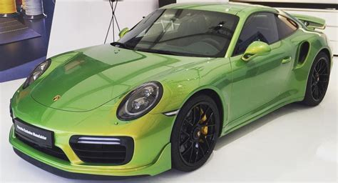 porsche custom paint the paint of this porsche 911 turbo s costs nearly 100 000