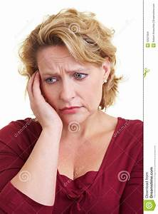 Worried Woman Stock Images - Image: 12521054