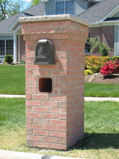 brick l post designs 75 best images about brick mailbox on pinterest planters