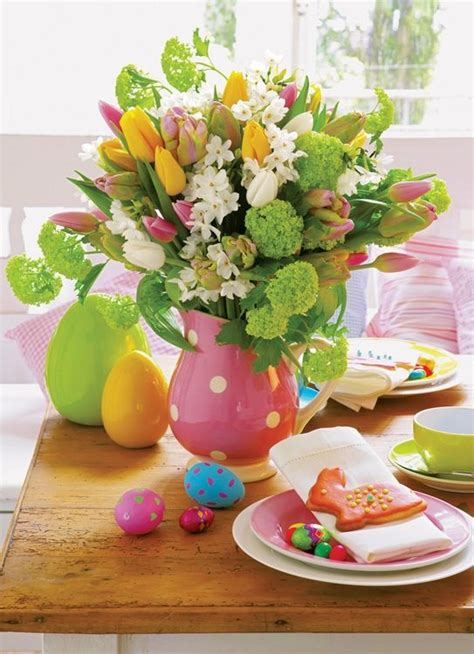 table pour paques 3 d 233 coration de table pour p 226 ques easter easter easter table