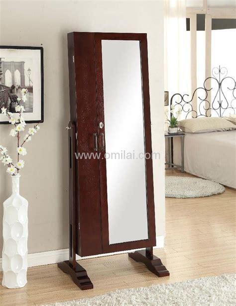 Antique Double Doors Mirror Jewelry Armoire  410501 Dbt