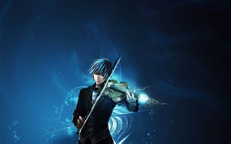 Violin Wallpaper Anime - cresendo kaito wallpaper 22293282 fanpop