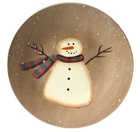 snowman arts and crafts primitive wood snowman plate decorative plates and bowls 5448