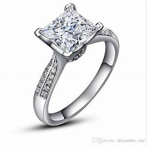 2017 luxury pure silver wedding rings chibrand jewelry With pure silver wedding rings