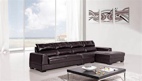 dark brown sectional sofa 3 piece diva genuine dark brown leather sectional sofa set