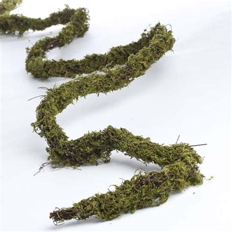 twig and moss natural twig and moss garland garlands floral supplies craft supplies
