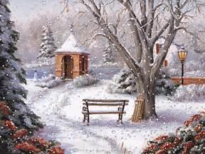 Christmas Winter Scenes