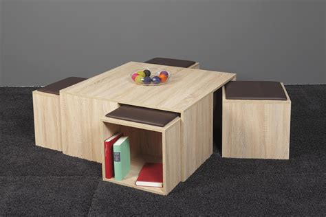table basse pouf integre atlub