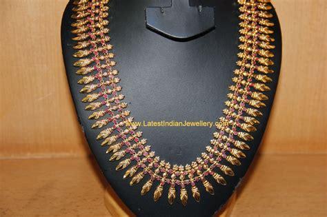 South Indian Mullamottu mala - Latest Indian Jewellery Designs