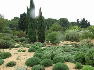 The trial garden at pepiniere filippi wwwjardin seccom for Jardin sec