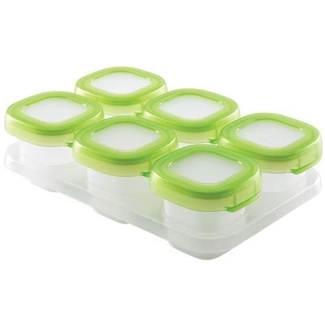 Baby Food Freezer Containers   2 Ounce in Plastic Food