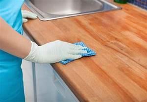 Arbeitsplatte Küche Versiegeln : arbeitsplatte kuche holz reinigen ~ Michelbontemps.com Haus und Dekorationen