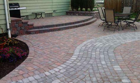 brick paver patio installation livonia southeast michigan