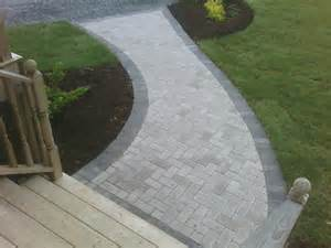 Curved Paver Walkway Ideas