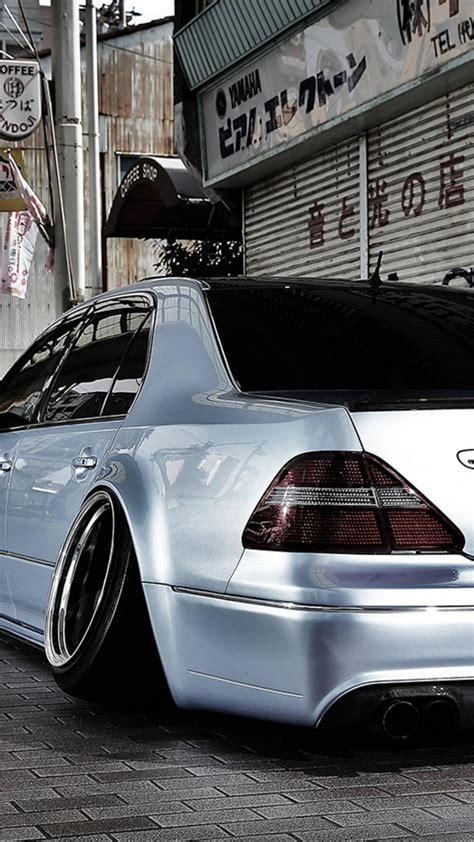 japan cars lexus slammed toyota celsior camber wallpaper