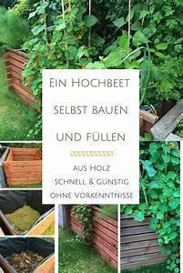 Rigole Selber Bauen : ein hochbeet aus einem komposter bauen und bef llen ~ Lizthompson.info Haus und Dekorationen