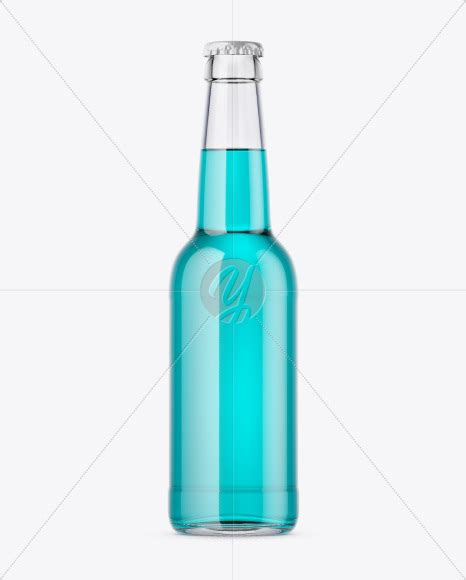 This is an exclusive free cosmetic bottle mockup design for both personal and commercial uses. 330ml Clear Glass Bottle With Drink Mockup in Free Mockups ...