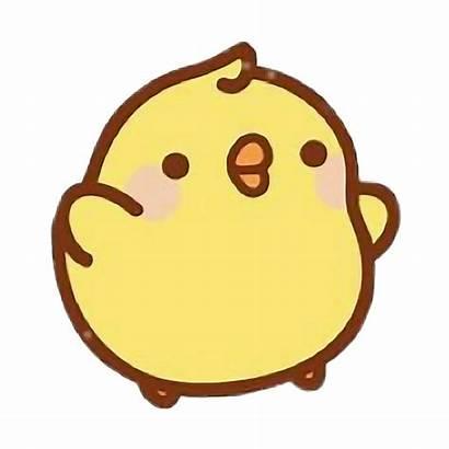 Kawaii Duck Clipart Duckling Stickers Transparent Clip