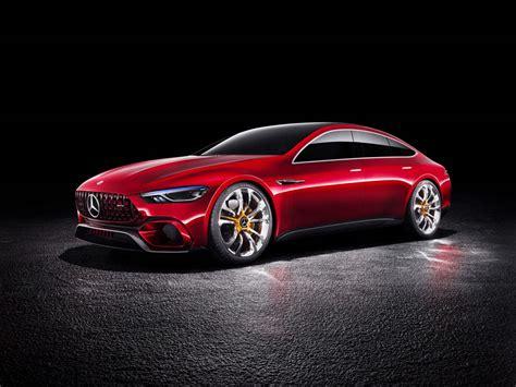 Mercedes Amg Gt Concept Primer Paso Del Futuro Hibrido